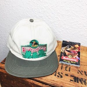 Vintage Budweiser SnapBack hat with card deck